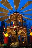 De piramide van Kerstmis Royalty-vrije Stock Foto's