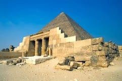 De piramide van Khufu Stock Afbeeldingen