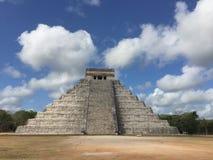 De piramide van Mexico van Chichenitza Royalty-vrije Stock Afbeeldingen