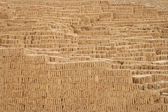 De Piramide van Pucllana van Huaca Royalty-vrije Stock Foto's