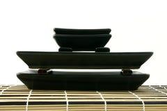 De piramide van sushi Stock Afbeelding