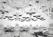 De piramideclose-up van het glas royalty-vrije illustratie
