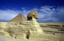 DE PIRAMIDES VAN AFRIKA EGYPTE KAÏRO GIZA Stock Afbeelding