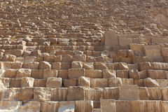 De piramides van Giza, Egypte (stadion) Stock Foto's