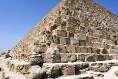 De piramides van Giza, Kaïro, Egypte Royalty-vrije Stock Afbeelding