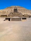 De Piramides van Teotihuacan royalty-vrije stock foto