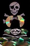 De piraterij van de software Stock Foto