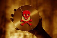 De piraterij van de software