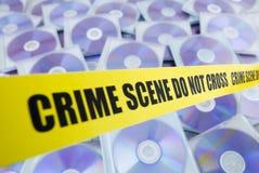 De piraterij van gegevens Stock Afbeelding