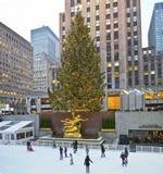 De Piste en Boom 2012 van Rockefeller Royalty-vrije Stock Foto's