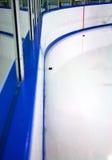De Piste van het hockey Stock Afbeeldingen