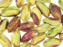 De pitten van de pistache stock foto's