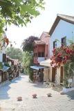 De pittoreska gatorna av Kas Royaltyfri Foto