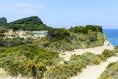De pittoreska klipporna Arkivbild