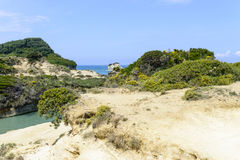De pittoreska klipporna Royaltyfri Foto
