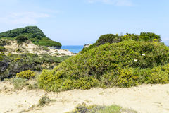 De pittoreska klipporna Royaltyfri Fotografi