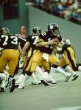 De Pittsburgh Steelers van Terry Bradshaw Stock Foto