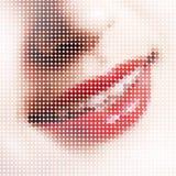 De pixel van de glimlach Stock Afbeeldingen