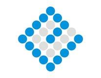 De Pixel van het embleem e   royalty-vrije stock afbeelding