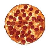 De Pizza Royalty-vrije Stock Afbeelding