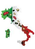De Pizza van Italië Royalty-vrije Stock Foto's