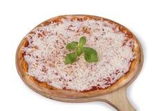 De pizza van Margarita Royalty-vrije Stock Afbeelding