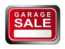 De plaat van de garage sale Royalty-vrije Stock Afbeeldingen