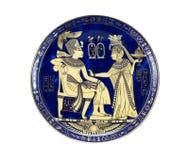 De Plaat van de herinnering Royalty-vrije Stock Foto