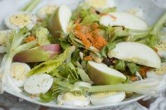 De plaat van de salade Royalty-vrije Stock Foto
