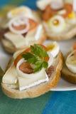 De plaat van de sandwich stock afbeeldingen