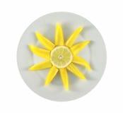 De plaat van de zon Royalty-vrije Stock Afbeeldingen
