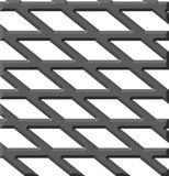 De plaat van het staal Stock Foto