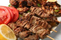 De plaat van het vlees royalty-vrije stock foto's
