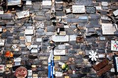De plaats L ` Animita DE Romualdito van het straatgebed in Santiago, Chili Stock Afbeelding