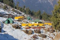 de plaats is in Uttarakhand in India geroepen AULI royalty-vrije stock foto
