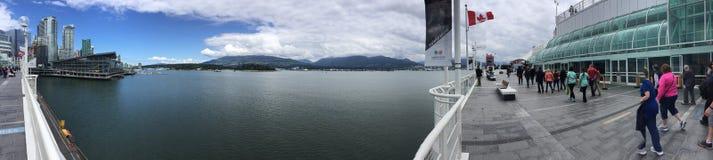 De plaats van Canada in de stad Canada van Vancouver Dit is goed - bekende toeristenbestemming royalty-vrije stock fotografie