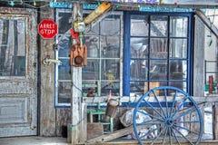 De plaats van de antiquiteitenwinkel Stock Afbeeldingen