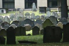 De Plaats van de Begrafenis van Boston Royalty-vrije Stock Afbeeldingen
