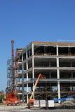 De Plaats van de Bouwconstructie Stock Fotografie