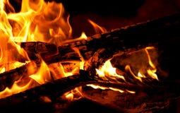 De plaats van de brand Stock Afbeelding