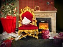 De plaats van de kerstman Royalty-vrije Stock Foto