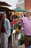 De plaats van de markt Stock Foto's