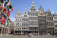 De plaats van de markt Antwerpen Stock Fotografie