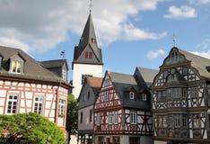 De plaats van de markt in Idstein Royalty-vrije Stock Fotografie