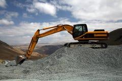 De Plaats van de mijnbouw Royalty-vrije Stock Fotografie
