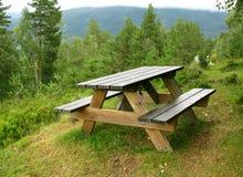 De plaats van de picknick Royalty-vrije Stock Foto's