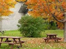 De plaats van de picknick royalty-vrije stock fotografie
