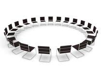 De plaats van de vergadering Stock Afbeelding