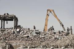 De Plaats van de vernieling stock foto
