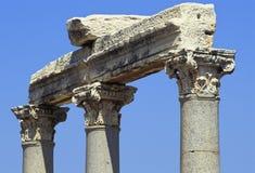 De plaats van Ephesus Stock Foto